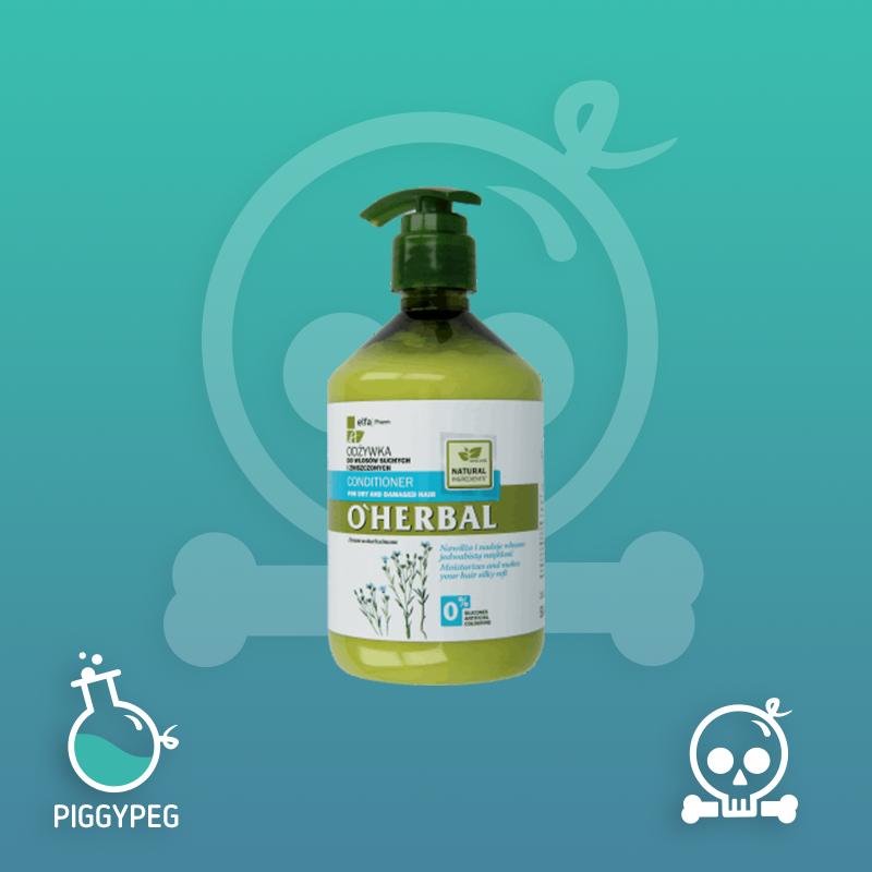 O'Herbal, odżywka do włosów suchych i zniszczonych z ekstraktem z lnu