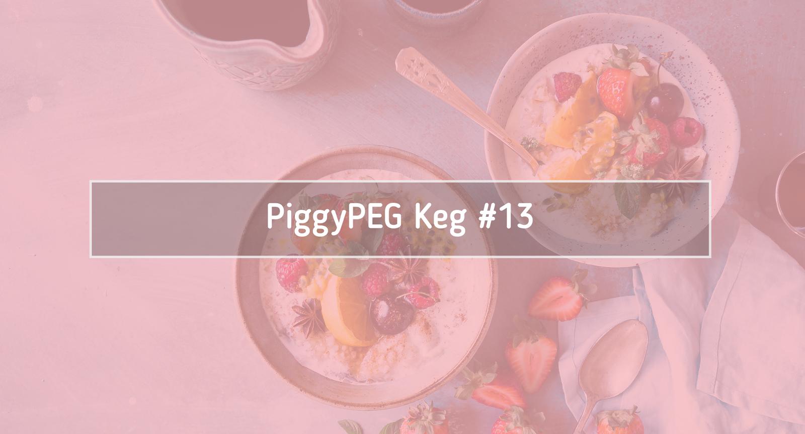 Piggypeg Keg #13 Lipiec