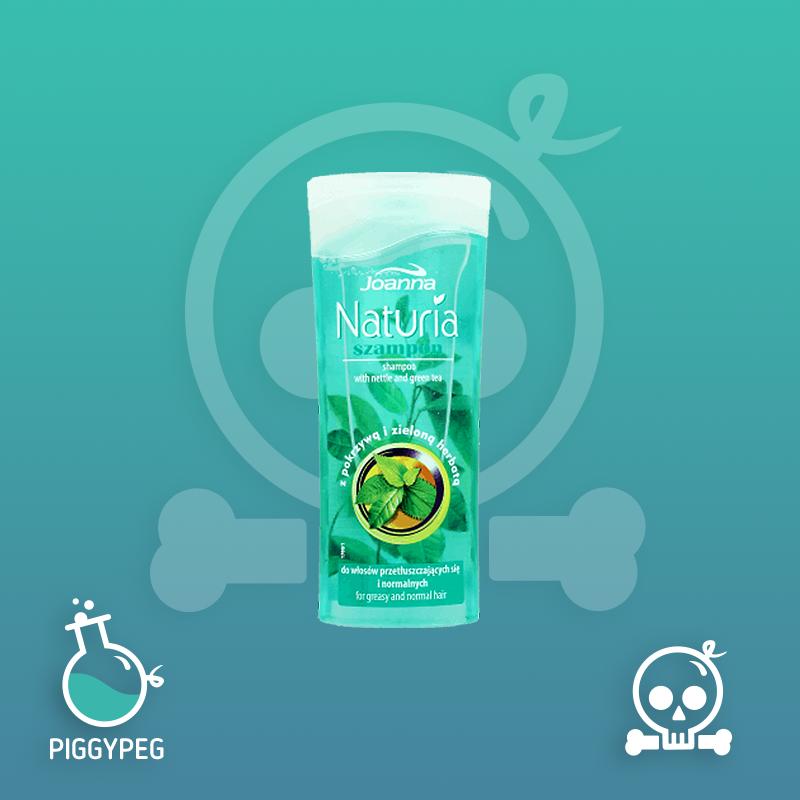 Joanna, Naturia, szampon z pokrzywą i zieloną herbatą, do włosów przetłuszczających się i normalnych