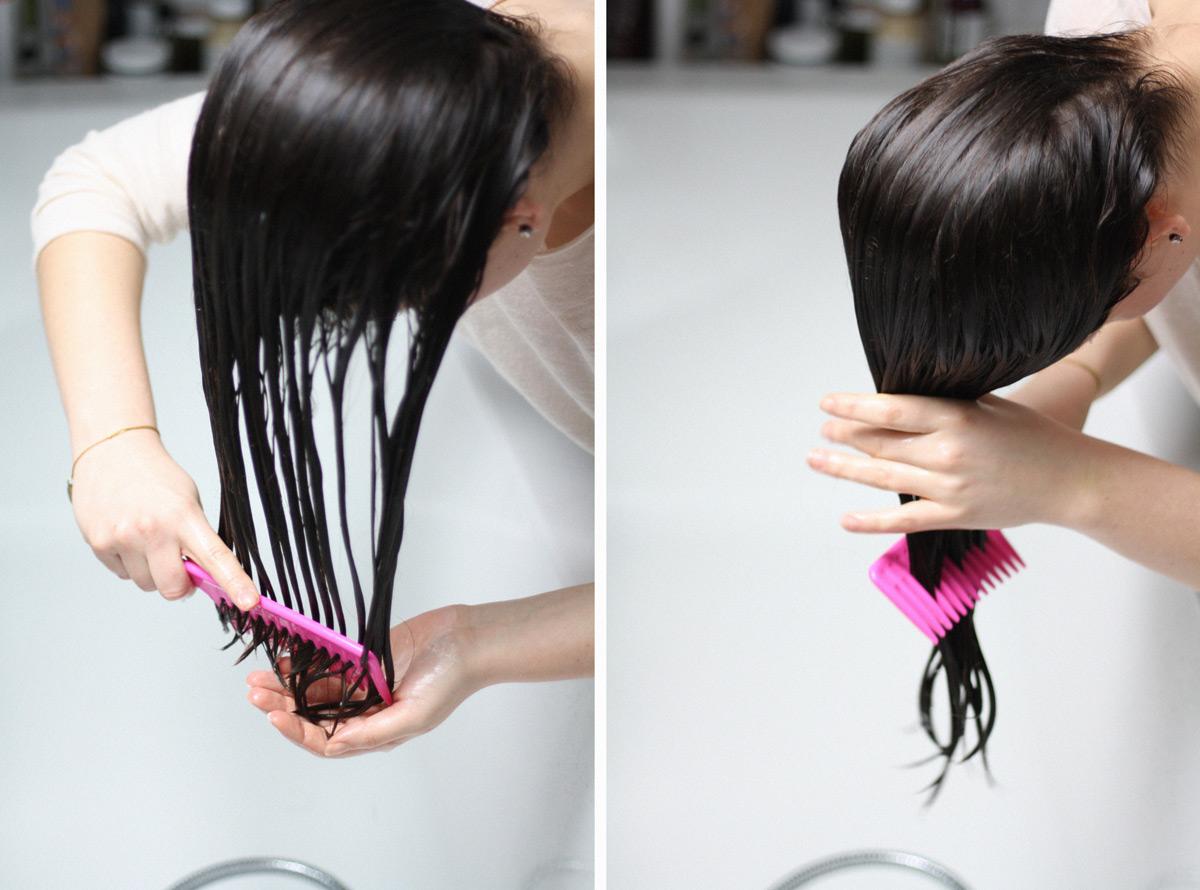 Pielęgnacja włosów falowanych by Monika